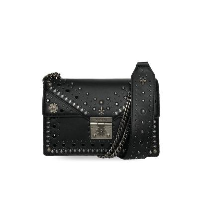 stud chain bag